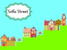 SOLFA STREET: SLIDES AND BULLETIN BOARD PRINTABLES - TeachersPayTeachers.com