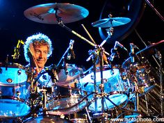Simon Phillips on the drums!