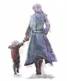 awn~ Tags: Anime, Fanart, Devil May Cry, Nero, Capcom (Nero is supposedly Vergil's son, just to clarify anything d; )