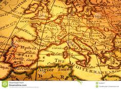 vintage europe map - Buscar con Google