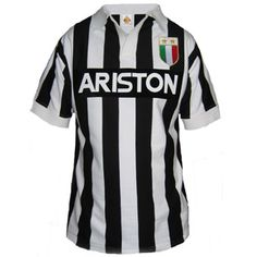Juventus Retro Football Shirts La que usaba Michel Platini