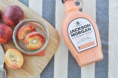 Sprinkle of Glam   Spiked Peach Ice Cream Recipe