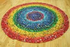 Pictures Of Abstract Art - Atlas Rainbow Made With Toy Cars