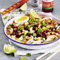 Wahrscheinlich könnte man sich lebenslänglich von Curry Noodles ernähren und würde trotzdem nie die gleiche Nudelschale vor sich haben. Hier ein beson...