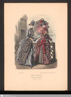 350 - Illustration Der Bazar, Illustrirte Damen-Zeitung. August 1886. - Der Bazar - Page - Digitale Sammlungen - Digital Collections