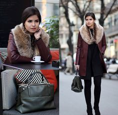 Adriana G. - Double coat, double the warmth