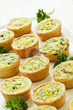 #Catering idea: Mini Quiche Hor D'oeuvres