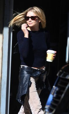 OLSENS ANONYMOUS FAVORITE: ASHLEY | NAVY SWEATER + CORDUROY PANTS