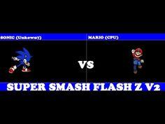 SSFZ: Sonic (Unkown7) vs Mario (CPU)