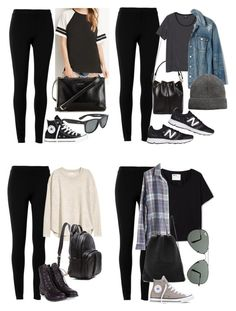 """""""Michael Clifford Inspired Outfits with Leggings"""" by fivesecondsofinspiration ❤ liked on Polyvore featuring Max Studio, Forever 21, Carven, Converse, Monki, H&M, Margaret Howell, Madewell, Alexander Wang and Kara"""