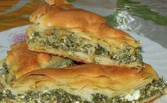 Greek Spinach Pie, Spanakopita, Greek Recipes, Fajitas, Ricotta, Feta, Sweet Home, Food And Drink, Yummy Food