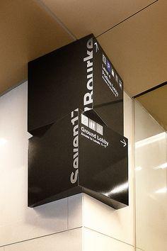 Seven17 Bourke Street signage | Design by Pidgeon