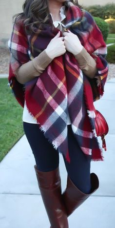 fall fashion tartan