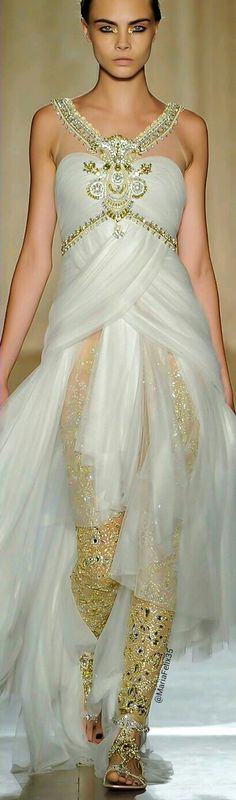 Marchesa ~ Not sure of date, but it's so wonderful I don't care.  It's going with the current couture~~me