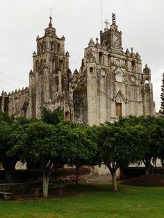 Iglesia de Atlatlahucan, Mor; México