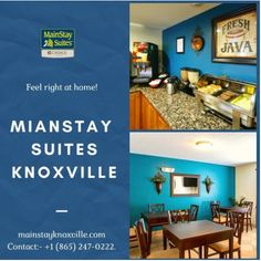 The fresh, light ambiance of our guest rooms will put you in vacation mode! or reservation Visit our website:- mainstayknoxville.com OR Contact:- +1 (865) 247-0222 #mainstay #hotel #motel #knoxville #suites #Tennessee #explore #magicalcity #stay #contactusnow📲 #book #booknow‼️