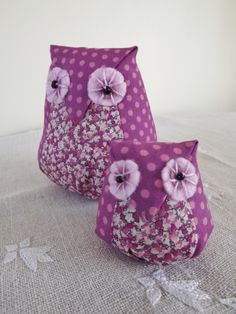 Liberty Fabric Owls