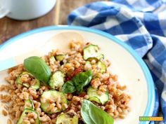 Il mio orzo d'estate (insalata di orzo fredda gustosa)  #ricette #food #recipes