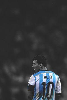 Lionel Messi 10 - Argentina.