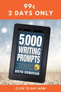 Writing prompts for fantasy, mystery, young adult, romance, science fiction, and more...as well as blog post ideas and topic for bloggers, poetry exercises, memoir writing prompts, and much more. In honor of Camp NaNoWriMo, this is an almost free ebook for years of creative writing inspiration. #writing tips #writing resources #how to start writing #writing a book #write a novel #creative writing exercises #teaching writing #fiction writing Memoir Writing, Writing Prompts For Writers, Start Writing, Writing Tips, Fiction Writing, Writing Resources, Teaching Writing, Science Fiction, Creative Writing Inspiration