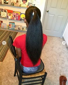 Get the inspiration you need to grow your hair to its full length. #longhair Natural Hair Growth Remedies, Natural Hair Growth Tips, Long Natural Hair, Natural Hair Styles, Hair Shrinkage, Afro Textured Hair, Queen Hair, Natural Hair Inspiration, Pretty Hairstyles