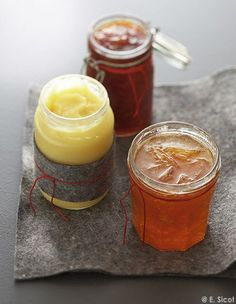 Chutney de pamplemousse - 50 confitures à faire soi-même Chutneys, Compote Recipe, Chutney Recipes, Caramel Apples, Sweet Recipes, Breakfast Recipes, Easy Meals, Cooking Recipes, Pudding