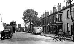 Newton-le-Willows High St circa 1905