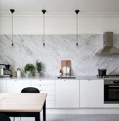 Interiors | Grey & White Kitchen