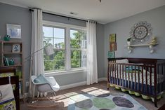 Nursery - Sherwin Williams Magnetic Gray
