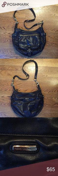 Rebecca Minkoff Crossbody leather Rebecca Minkoff large black cross body Rebecca Minkoff Bags Crossbody Bags