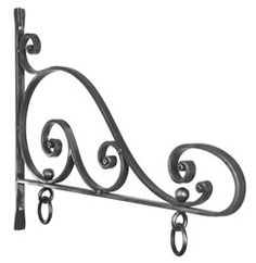 wrought iron sign hangers - Google Search