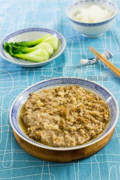 Steamed Minced Pork with Preserved Mustard Greens01