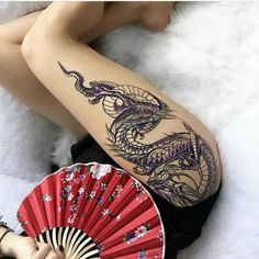 Hot Dragon Tattoos For Girls