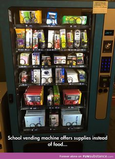 The vending machine we were waiting for