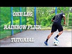 One Leg Rainbow Flick Tutorial Soccer Drills For Kids, Soccer Practice, Soccer Skills, Soccer Tips, Football Tricks, Football Jokes, Football Soccer, Soccer Workouts, Running Workouts