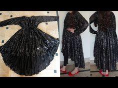 Dress Neck Designs, Fancy Blouse Designs, Bridal Blouse Designs, Designs For Dresses, Girls Dresses Sewing, Stylish Dresses For Girls, Frocks For Girls, Simple Dresses, Girls Frock Design