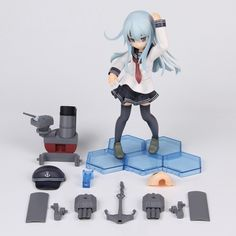 23.51$  Buy here - http://alig27.shopchina.info/go.php?t=32737404608 - Anime Figure 20 CM Kantai Collection Hibik PVC Action Figure Collection Model Toy   #magazine