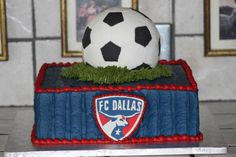 FC Dallas Fan's Birthday Cake