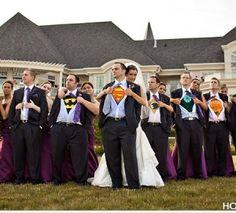 Superhero wedding!