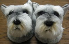 Miniature Schnauzer Gifts for the Schnauzer Lover. Schnauzer slippers, garden flags, jewelry, tapestry rug and more.
