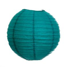 Koyal 14-Inch Paper Lantern, Peacock Blue, Set of 12 by Koyal. $37.44. Wire insert allows for easy hanging. Traditional round paper lantern with easy assembly instructions. Perfect for catered presentations, weddings, bridal and baby showers, birthdays, classic candy buffets, dessert tables and more. Light Kit Sold Separately. Pair this with other Koyal Wholesale products, such as vases, event decorations, lighting, DIY craft supplies and dessert and candy buffet supplies. ...