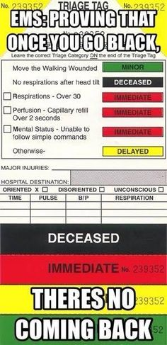 Once you go black......there's no coming back. #EMS lmao