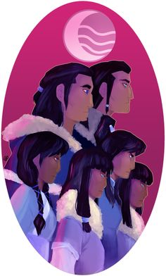 The Avatar and her family.~ Don't know who these people are but I like the work