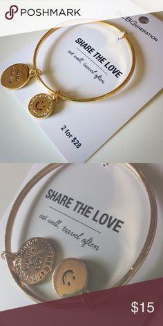 BCBG Gold Bangle BWT NWT BCBGeneration Jewelry Bracelets