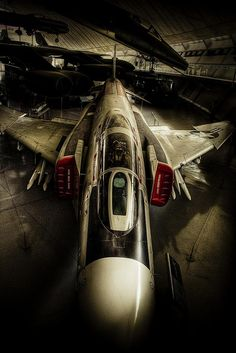 F-4 Phantom II - Not the newest plane around, but still (IMO) the most badass by far...well, and the A-10