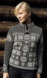 Sentimental value pieces purchased while traveling abroad -- Dale of Norway - PEACE - black Norwegian Clothing, Norwegian Style, Norwegian Knitting, Nordic Sweater, Fair Isles, Fair Isle Knitting, Sweater Design, Knitting Designs, Feminine Style