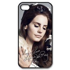Lana Del Rey Beauty Singer Music iPhone 4/4s Case by PimpMyCases, $15.50