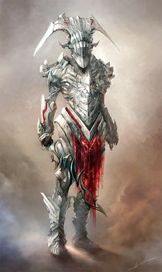 White knight by Haco1.deviantart.com on @deviantART