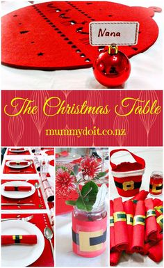The Christmas Table - The Fruitful Homemaker Christmas Activities, Christmas Traditions, Christmas Crafts, Christmas Recipes, Old Fashioned Recipes, Christmas Table Decorations, Holiday Festival, Diy Table, Homemaking