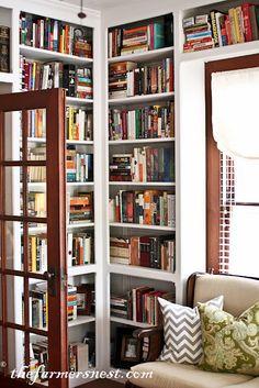 bookshelves!<3<3